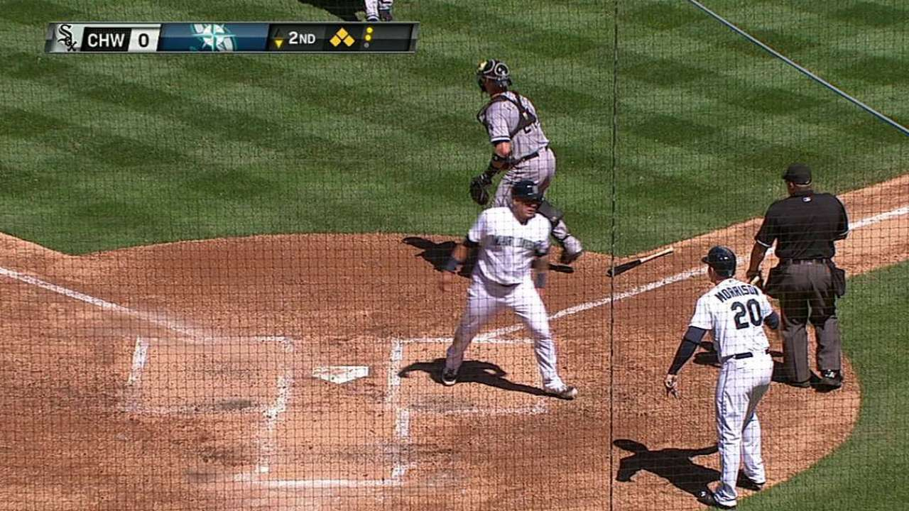 Jackson's big day lifts Mariners past White Sox