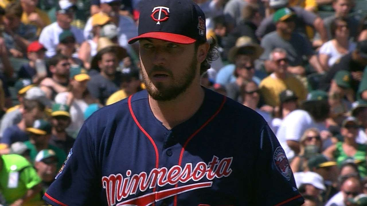 Combo of vets, prospects set to fill out Twins' rotation
