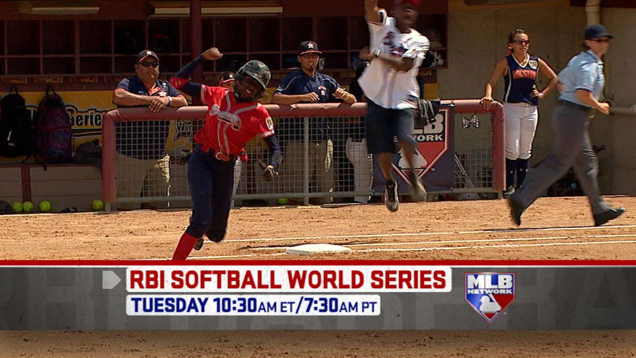 Santo Domingo captures RBI Softball title
