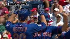 Niese, Recker key series win for Mets in Philly