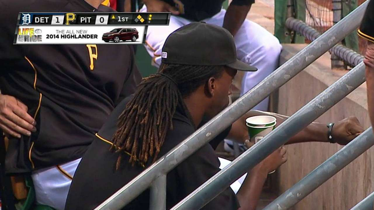 Rib fracture sends McCutchen to DL