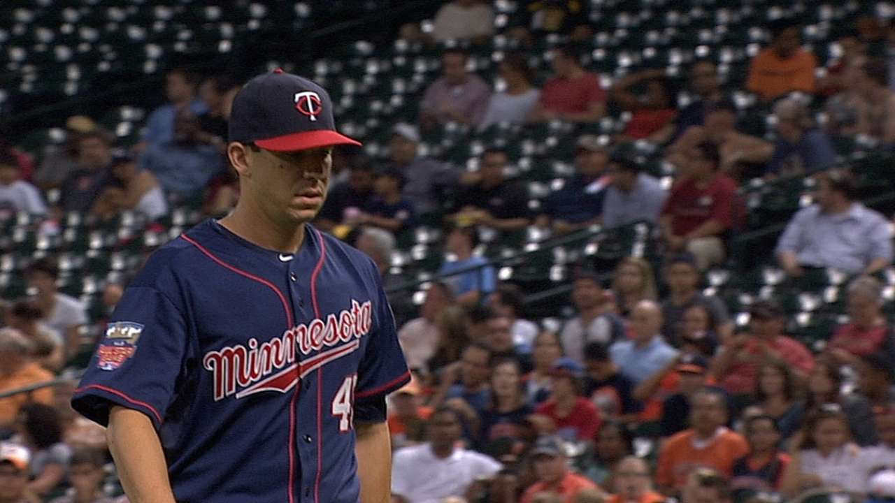 Milone out to prove himself to Twins' faithful