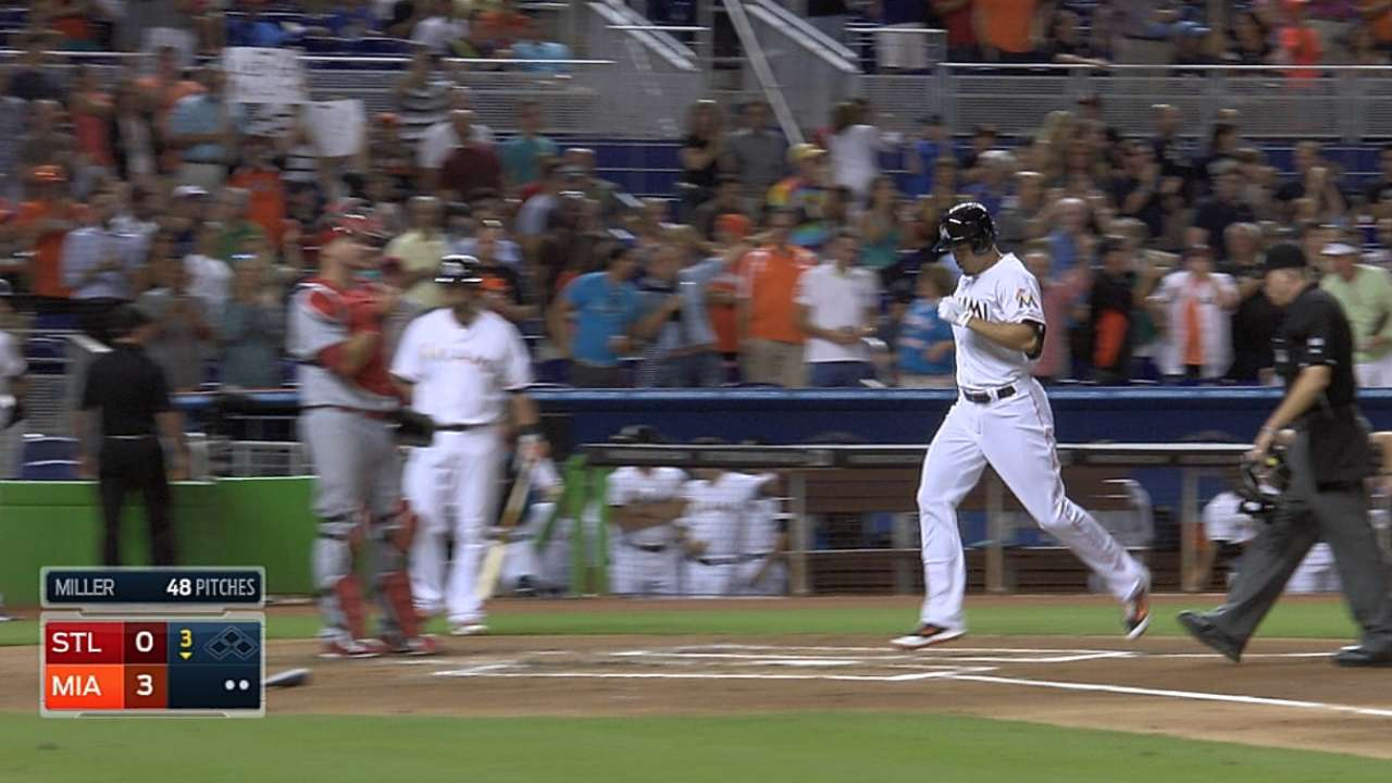 As his homers soar, humble Stanton remains grounded