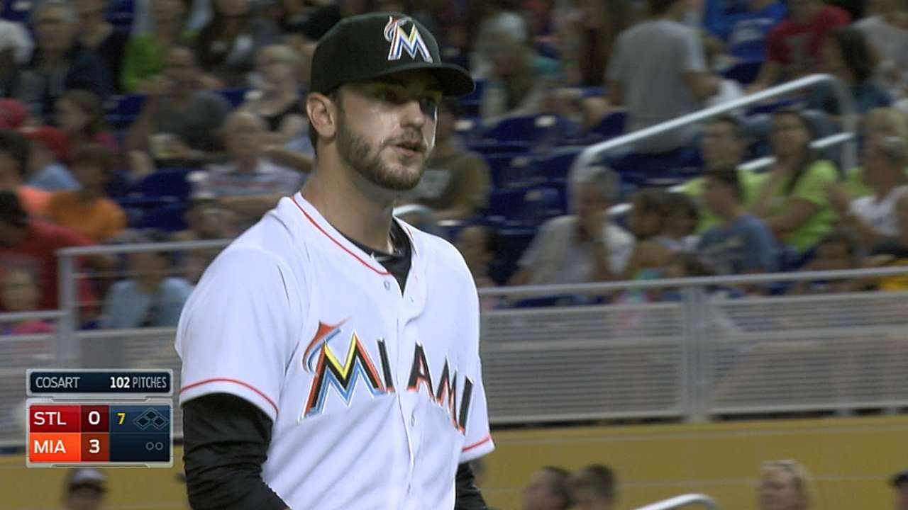 Cosart earns first Marlins win with scoreless gem