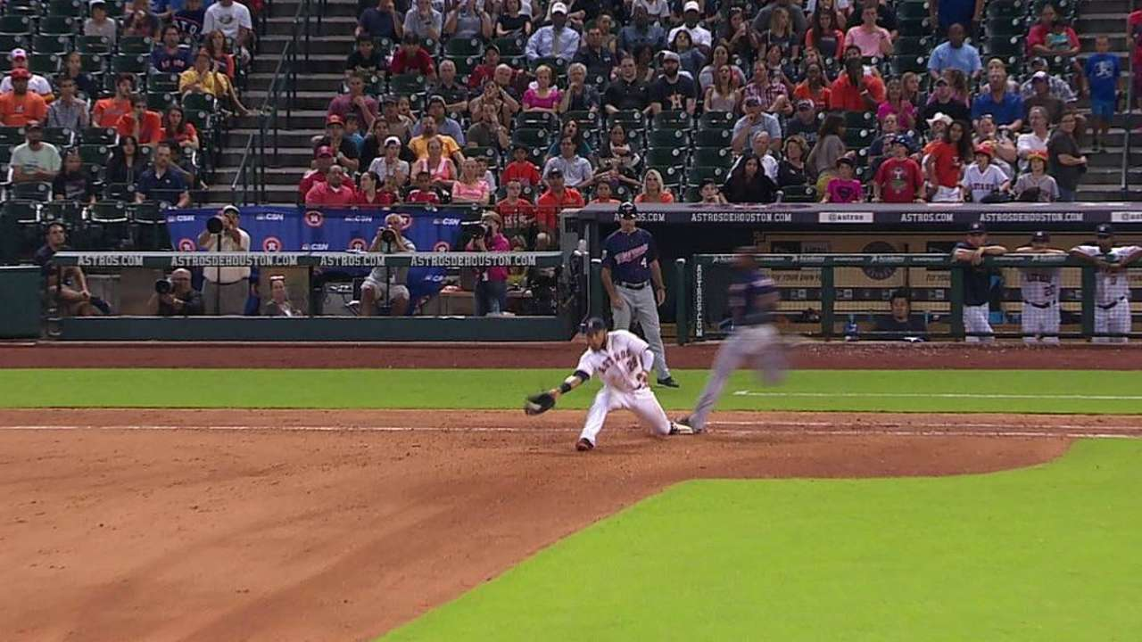 Gardenhire loses challenge on close play at first