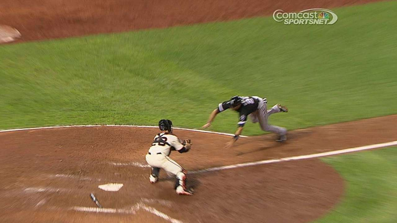 Replay confirms Posey's positioning while making tag