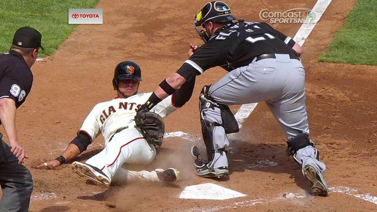Gigantes hundieron a White Sox con ayuda del video