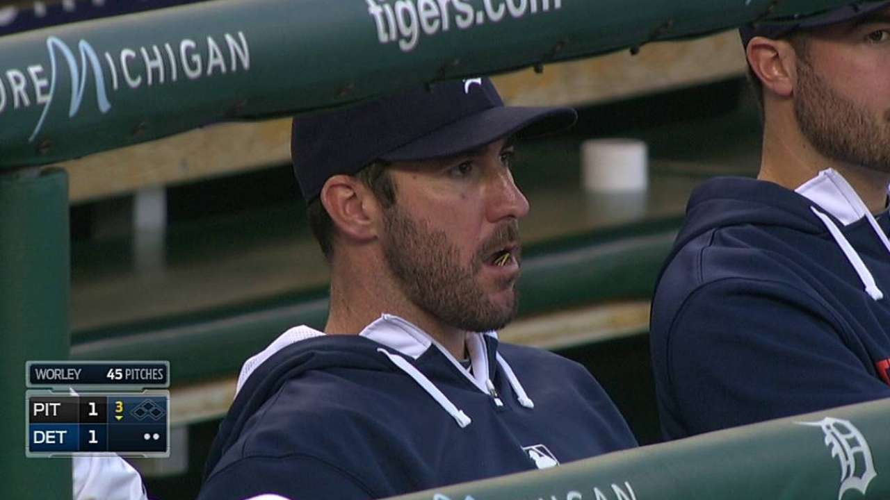 Verlander's status won't be clear until next week
