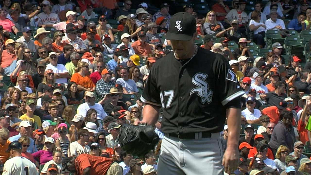 Lindstrom looking for better feel with pitches