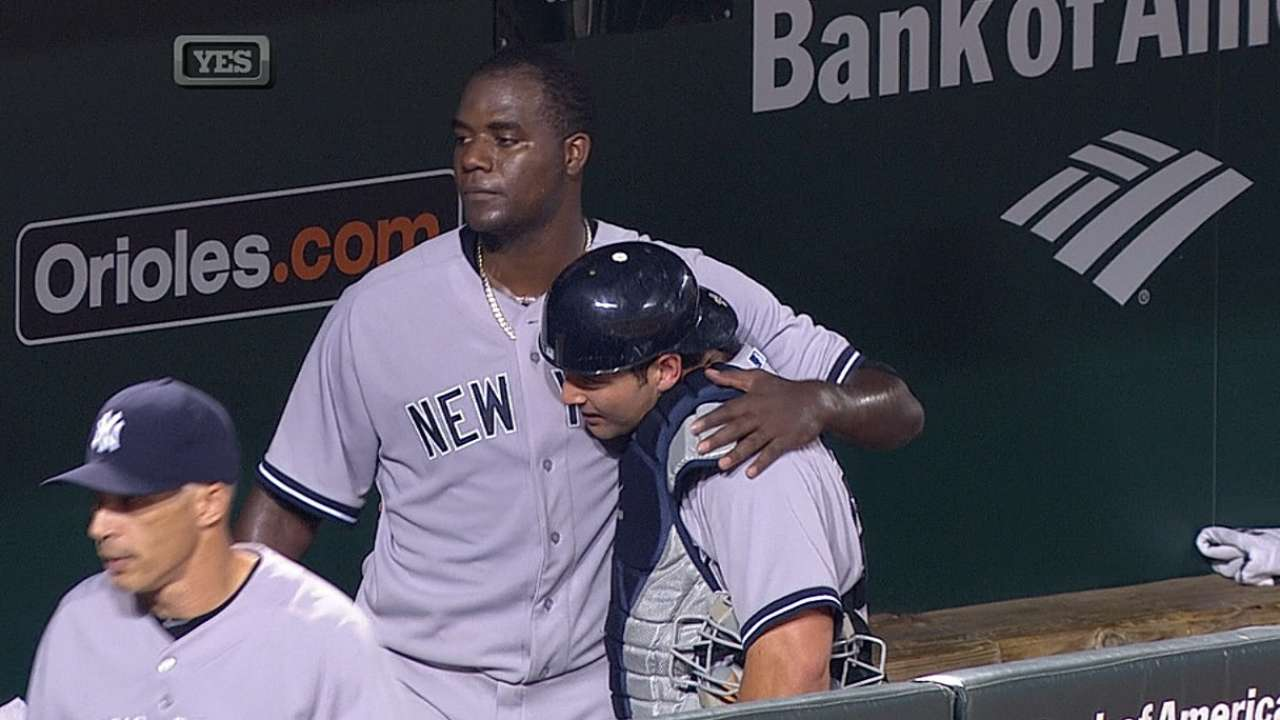 After Pineda's solid start, Yanks let one get away