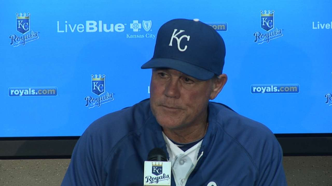 Vargas' shutout gives Royals' bullpen a break