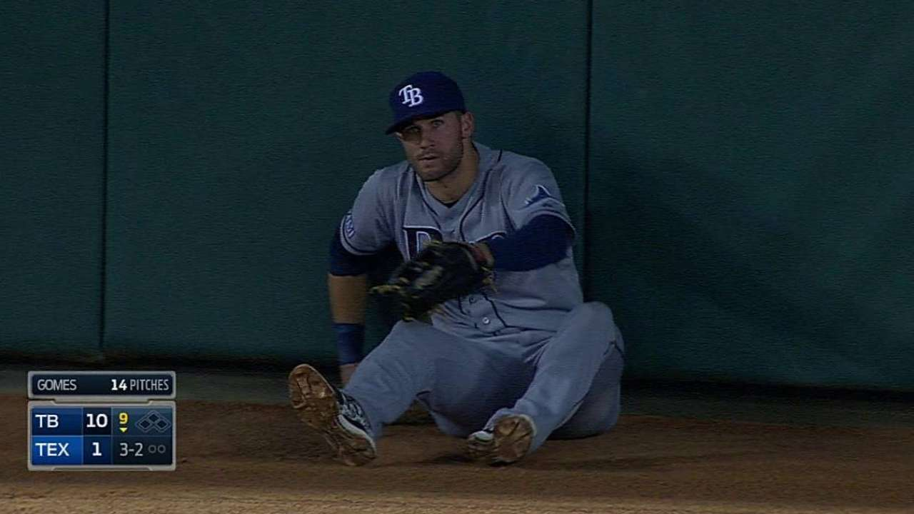 Kiermaier set to receive Heart and Hustle Award