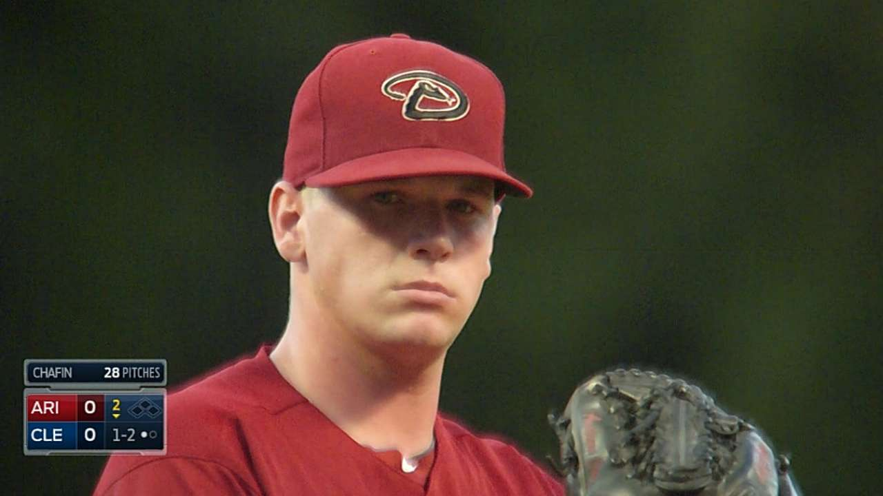 Chafin shines in Major League debut