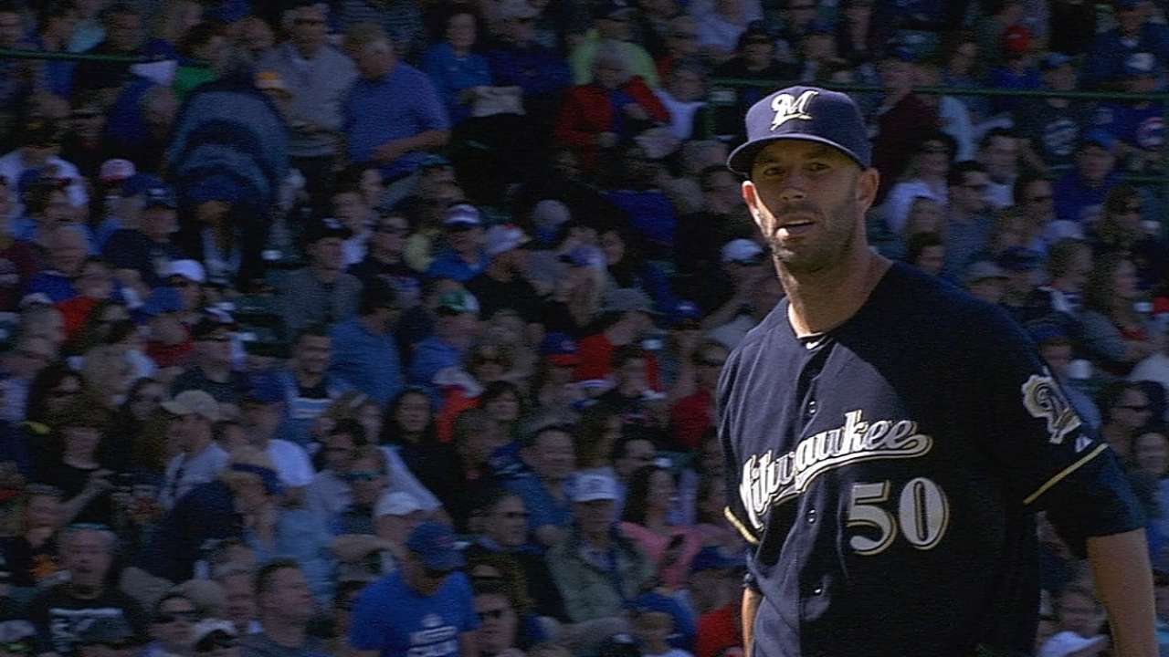 Fiers in select company with career-high 14 K's