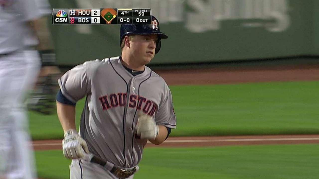Domínguez jonronea pero Astros caen con Boston