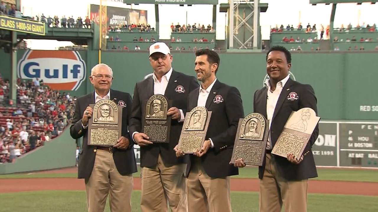 Four legends inducted into Red Sox Hall of Fame