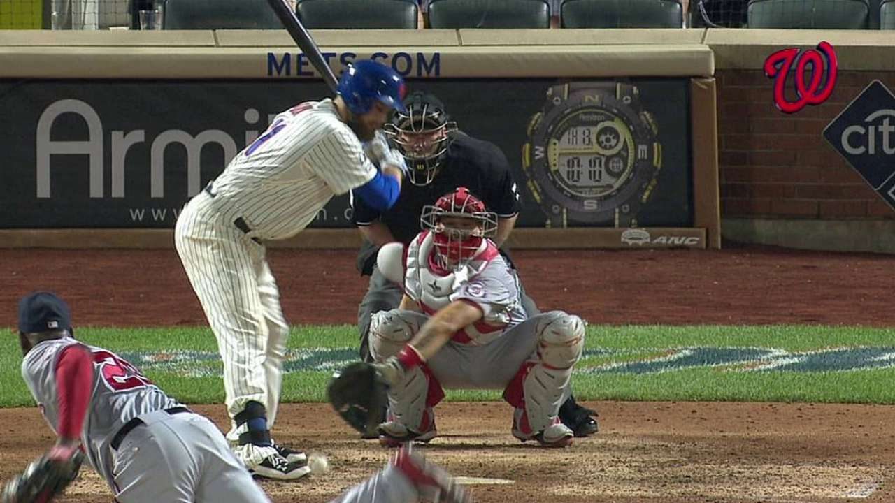 Mets unsuccessful on hit-by-pitch challenge