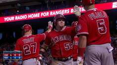 Halos hold on, pull within a game of first-place A's