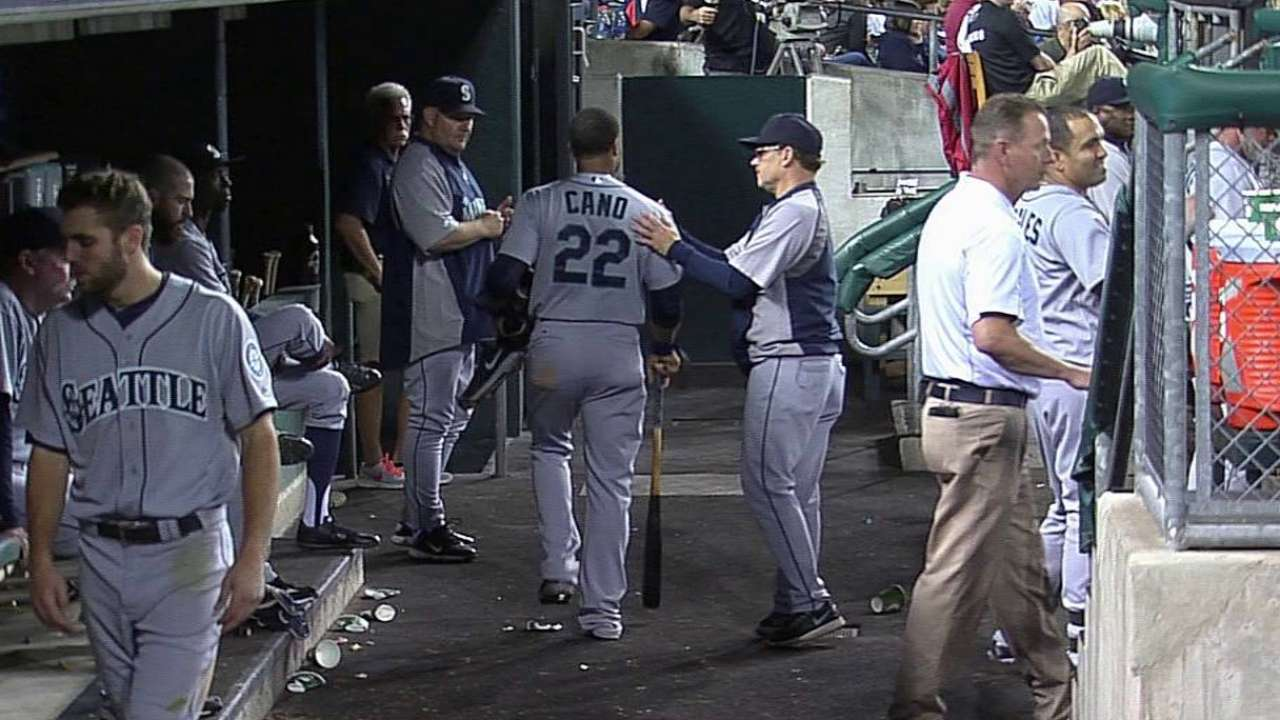 Cano's early exit vs. Tigers a precaution