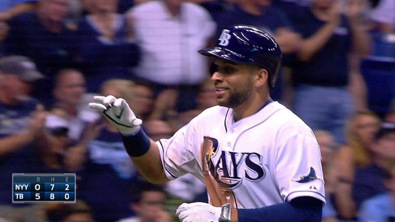 Rays alcanzan .500 tras blanquear a Yankees