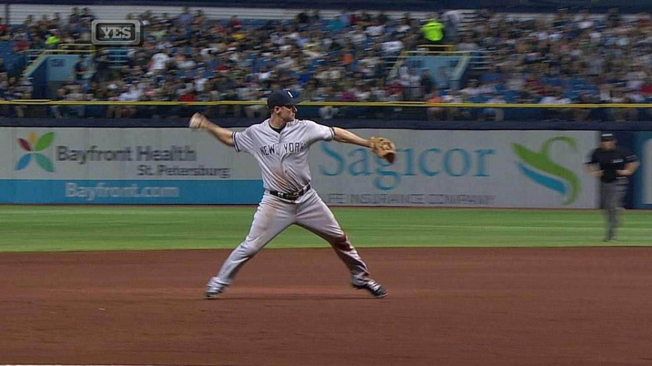 Ofensiva de Yankees silenciada en derrota vs. Rays