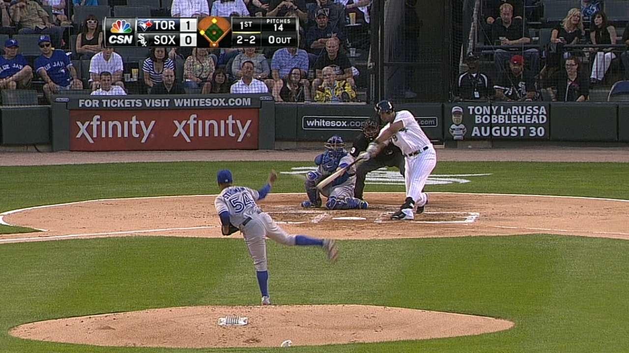 White Sox bury Blue Jays with five-run frames