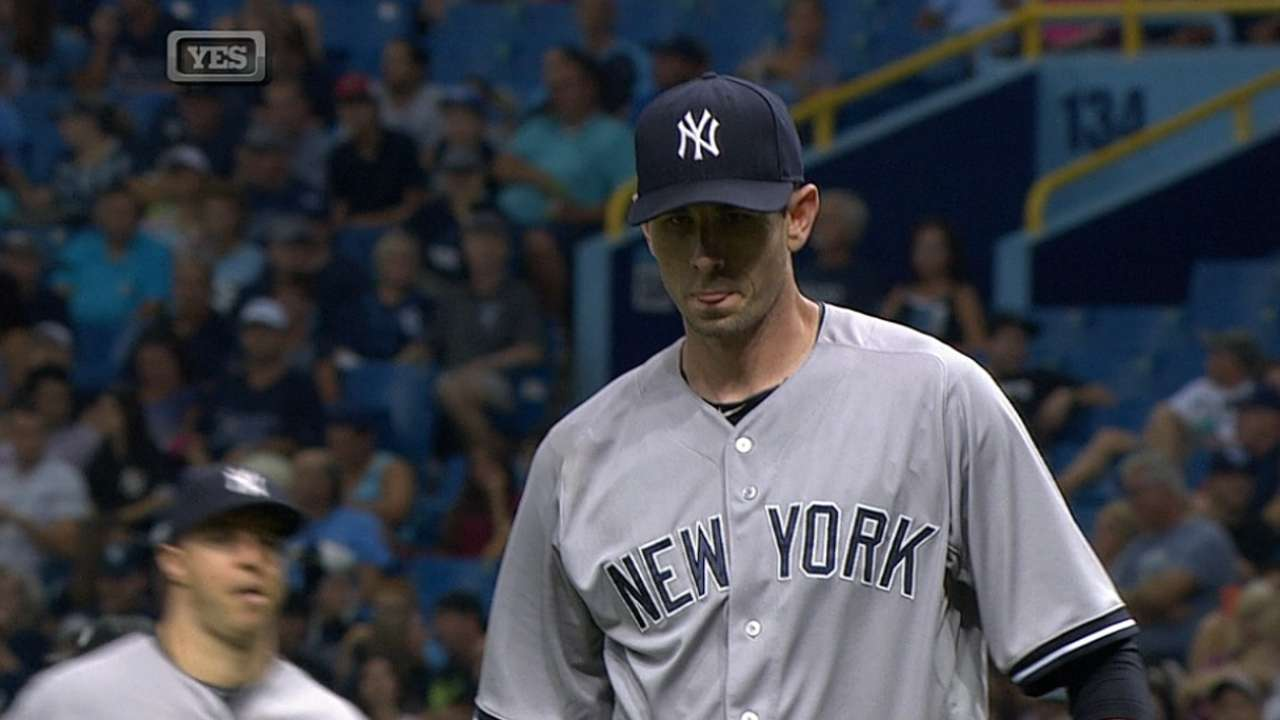 Yankees come up empty in opener in St. Pete