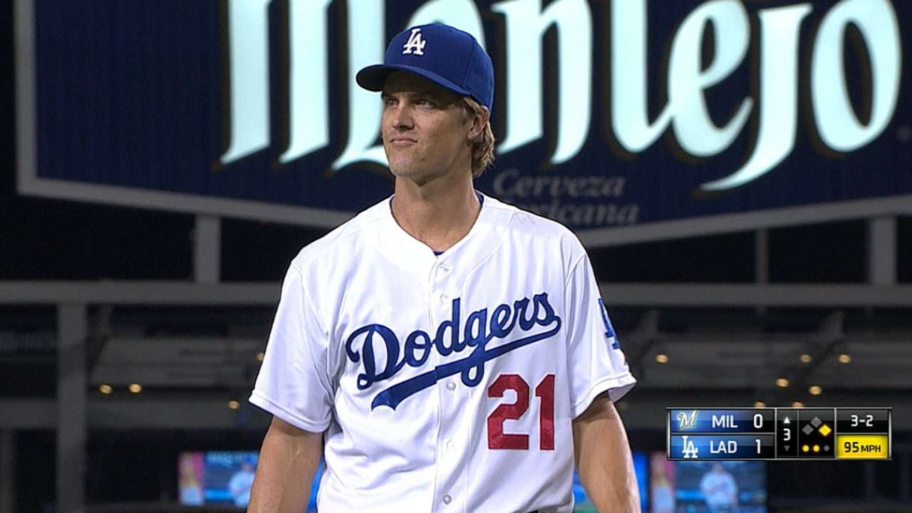 Greinke's bullpen session encourages Dodgers