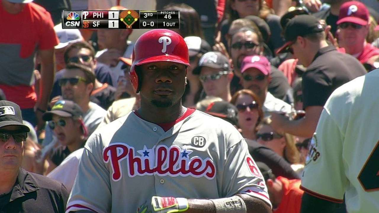 After strong start, Kendrick, Phils let lead slip away
