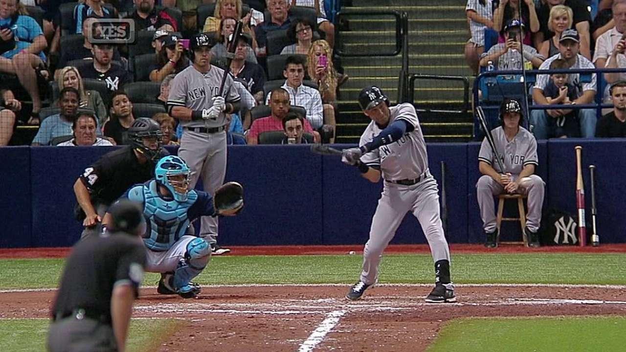 Jeter definió victoria de los Yankees sobre los Rays