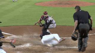 Scoring change erases 'E' in D-backs-Marlins tilt