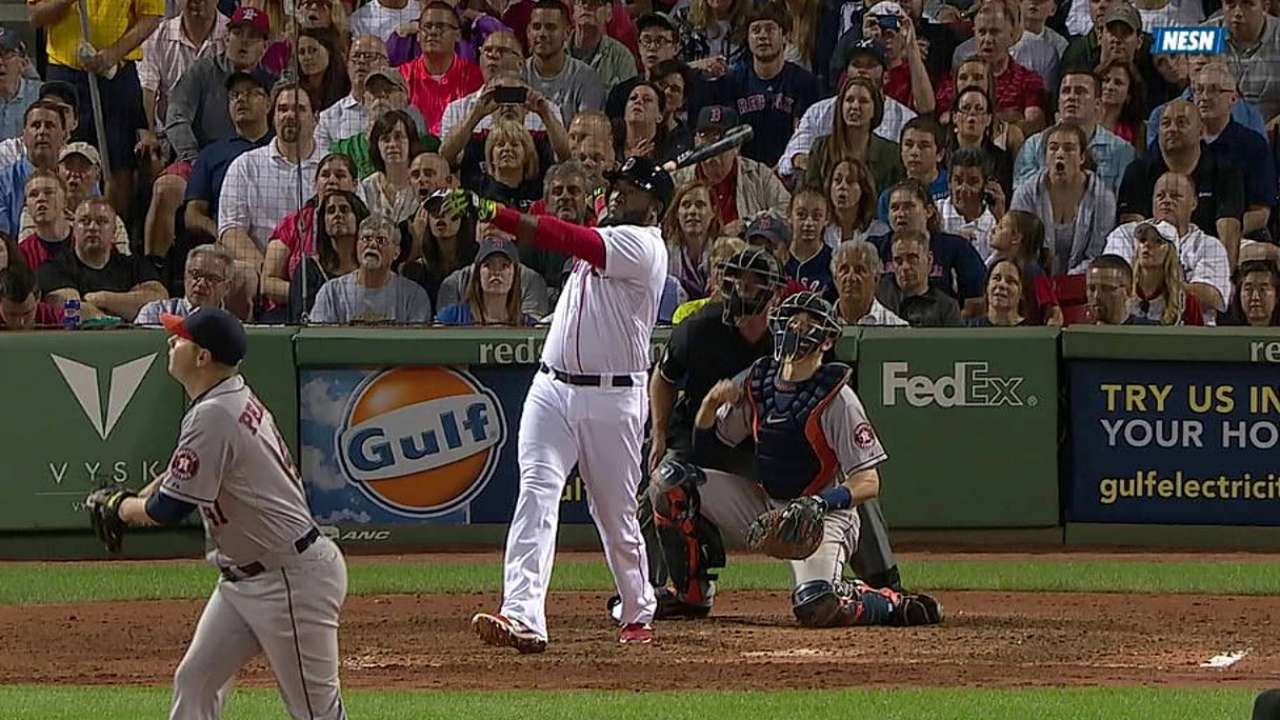 Boston supera a Houston en gran noche de Ortiz