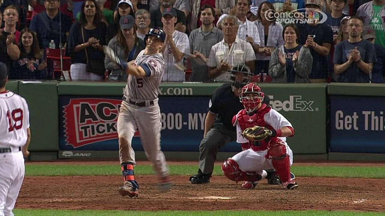 Astros fueron superados por Ortiz, Medias Rojas