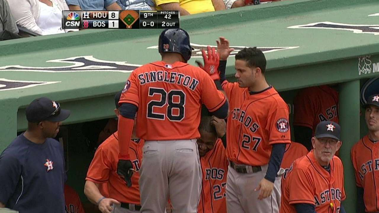 Porter advises slumping Singleton to watch Ortiz hit