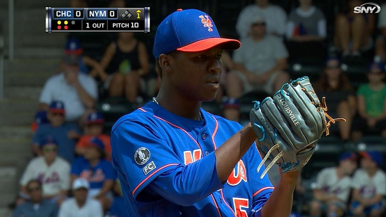 Mejia gives up late homer as Mets fall to Cubs