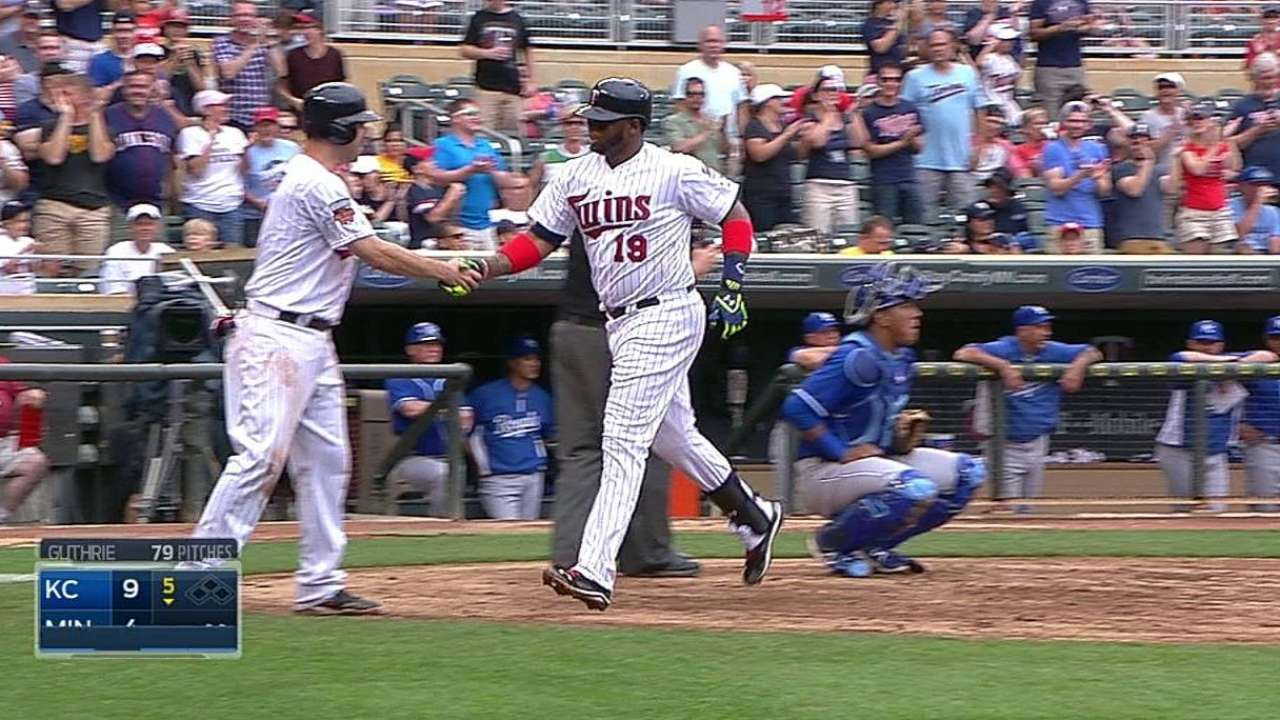 Twins, Milone foiled by Royals' seven-run inning