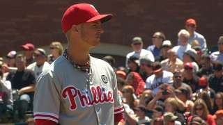Buchanan gets the call as Phils go for fifth straight win