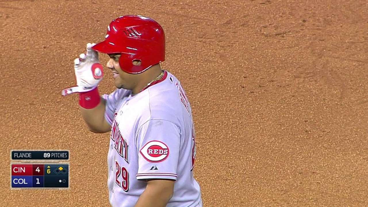 Pena brings optimism to Reds clubhouse