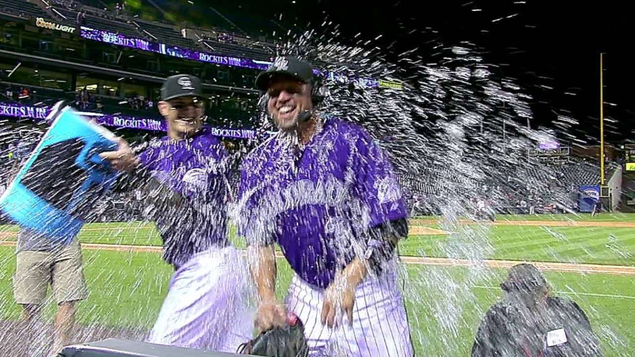 Cuddyer's historic cycle: By the numbers