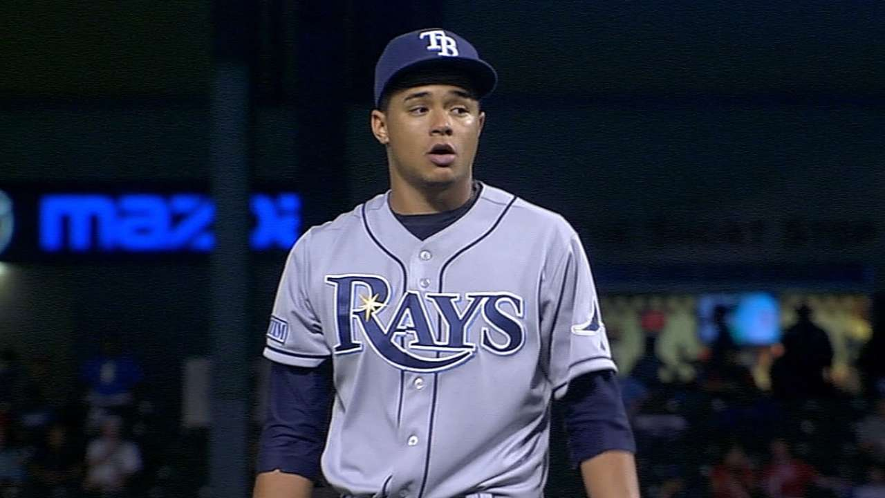 Rays keeping close eye on staff as fatigue can set in