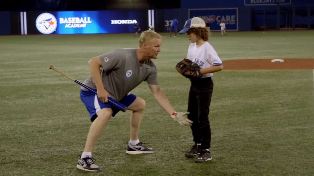 Blue Jays announce dates for Honda Summer Camps