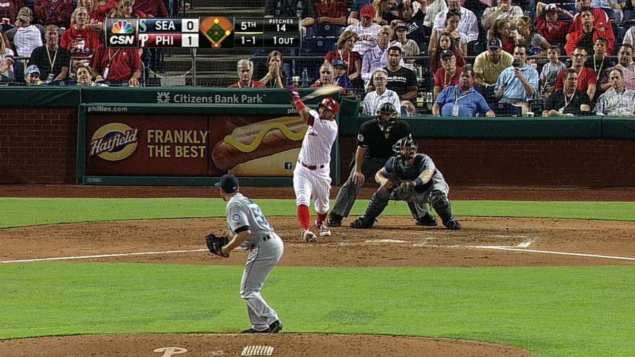 Blanco goes deep as Rollins gets break