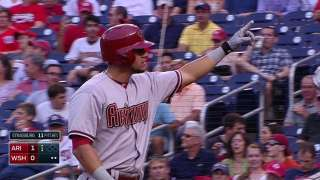 Anderson chased in third as D-backs can't stop Nats