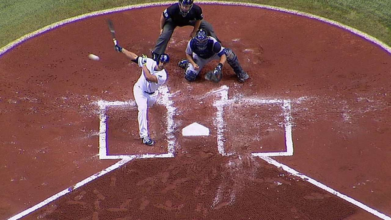 Belnome notches first MLB hit, RBI vs. Tigers