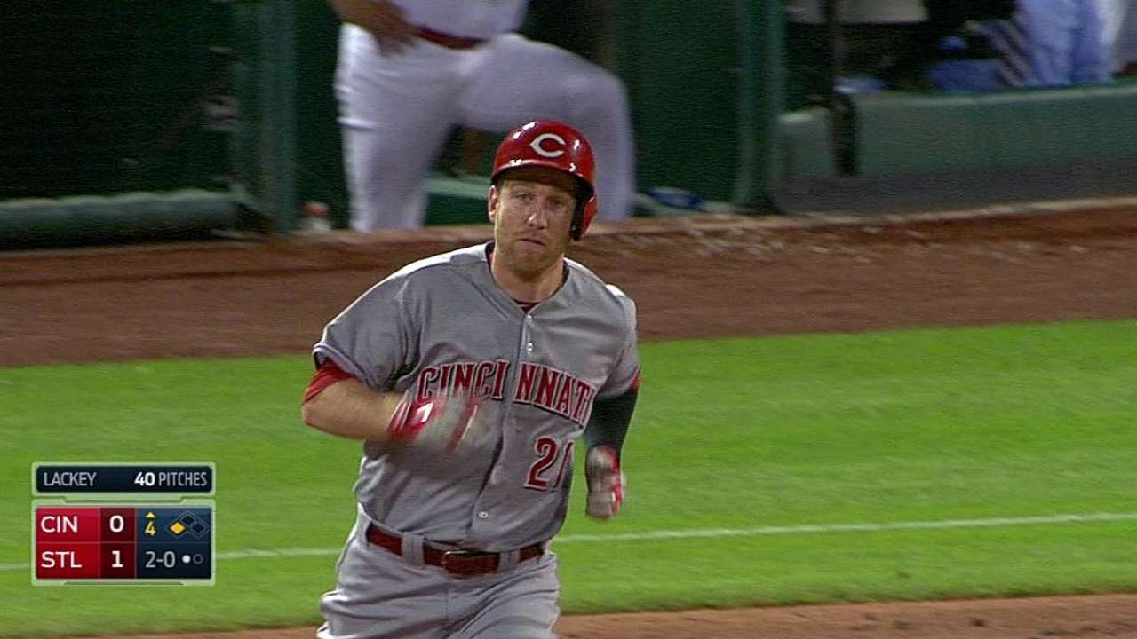 Reds' bullpen struggles mount in fourth straight loss
