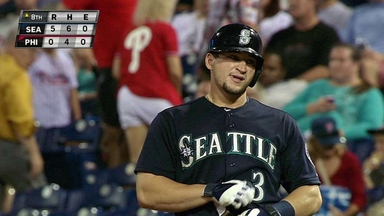 Zunino proving adept at getting plunked