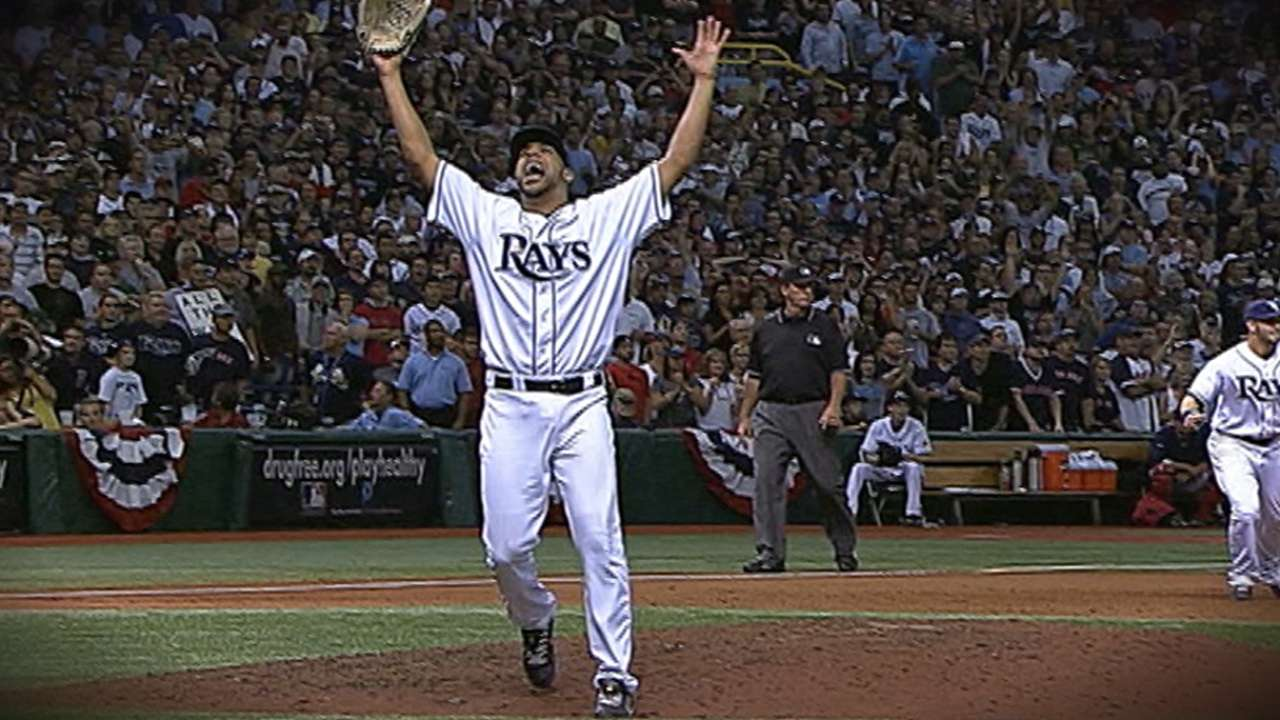 Rays' video tribute for Price