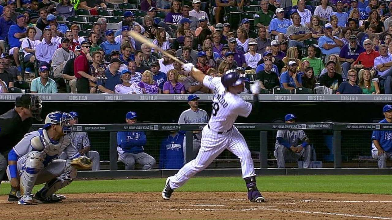 Rockies unravel in late innings vs. red-hot Royals