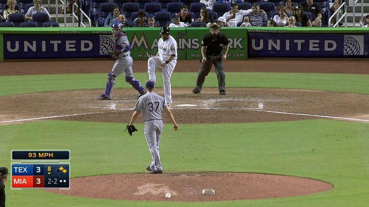 McGehee breaks bat over knee, wishes he didn't