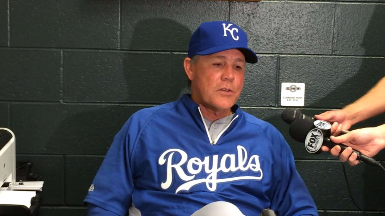 Royals' newfound confidence prompted streak